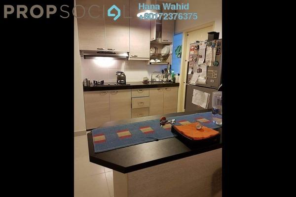 Apartment For Sale in Seri Intan Apartment, Setia Alam Freehold Semi Furnished 3R/2B 295k
