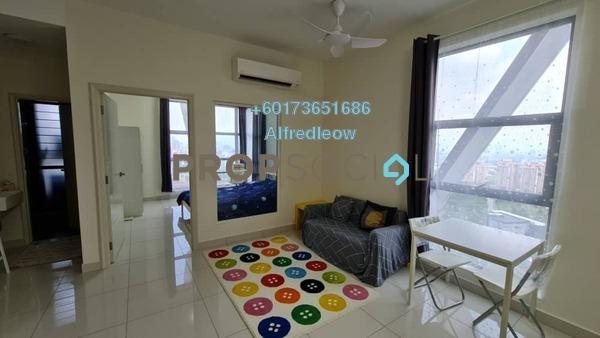 Condominium For Rent in Arte Mont Kiara, Dutamas Freehold Fully Furnished 1R/2B 1.8k