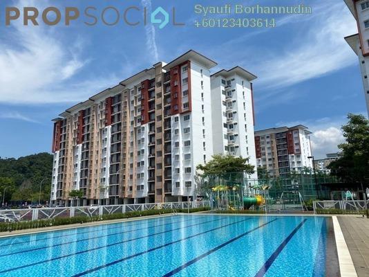 Apartment For Sale in Seri Jati Apartment, Setia Alam Freehold Unfurnished 3R/2B 280k