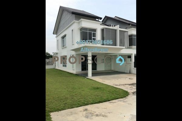 Terrace For Sale in Damai Residences, Kota Kemuning Freehold Semi Furnished 4R/4B 840k