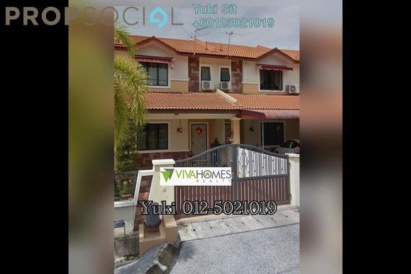 Terrace For Sale in Bandar Seri Botani, Ipoh Freehold Unfurnished 4R/3B 418k