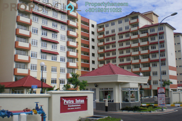 Apartment For Sale in Putra Intan, Dengkil Freehold Semi Furnished 3R/2B 270k