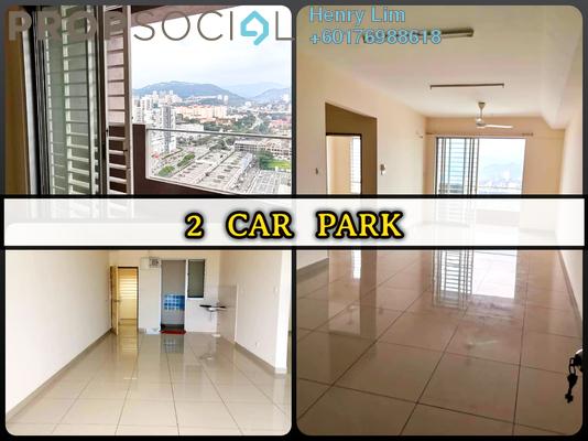Serviced Residence For Rent in Platinum Lake PV21, Setapak Freehold Semi Furnished 2R/2B 1.2k