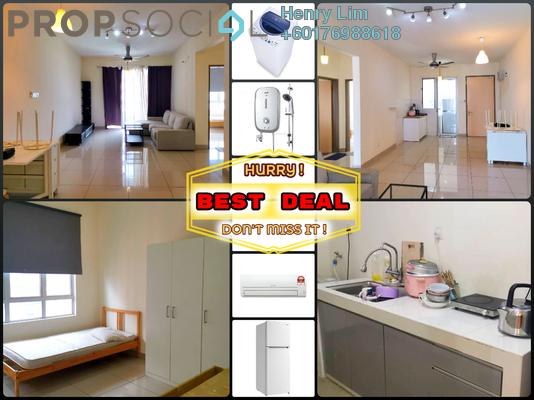 Serviced Residence For Rent in Platinum Lake PV21, Setapak Freehold Fully Furnished 2R/2B 1.4k