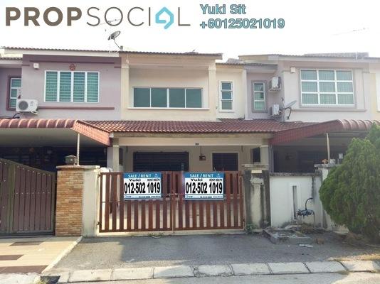 Terrace For Sale in Taman Pengkalan Utama, Ipoh Leasehold Unfurnished 4R/3B 298k