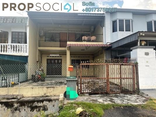 Terrace For Sale in Taman Sri Tebrau, Johor Bahru Freehold Unfurnished 3R/2B 750k