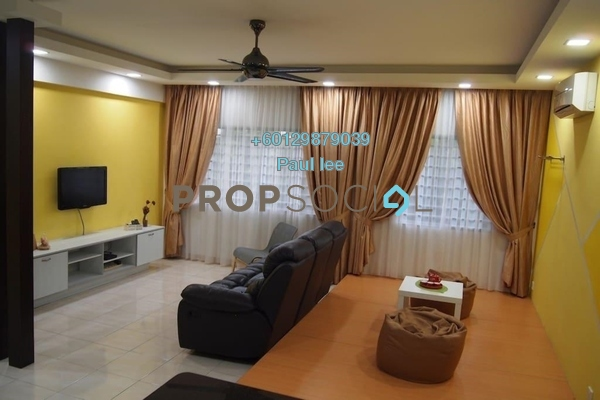 Condominium For Sale in Lagoon Residences, Kota Kemuning Freehold Fully Furnished 2R/2B 418k