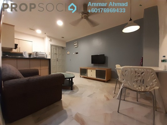 Serviced Residence For Rent in D-Villa Residence, Ampang Hilir Freehold Fully Furnished 1R/1B 2k