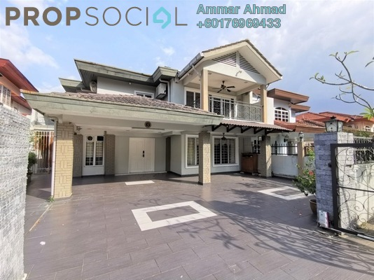 Semi-Detached For Sale in Taman Melawati, Kuala Lumpur Freehold Semi Furnished 7R/4B 2m
