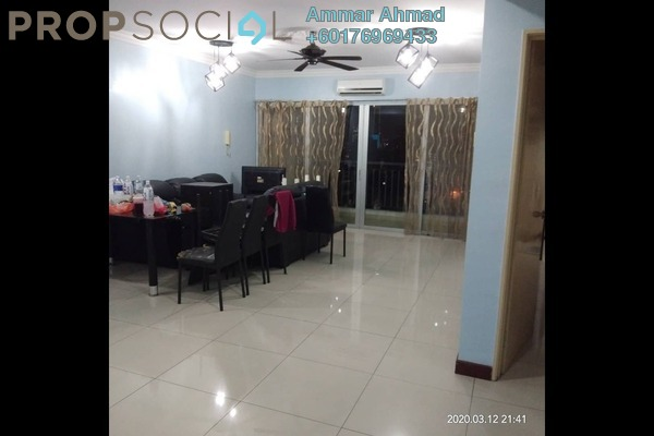 Condominium For Rent in Ampang Putra Residency, Ampang Freehold Semi Furnished 3R/2B 2k