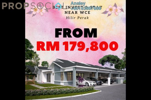Terrace For Sale in Lagenda Teluk Intan, Teluk Intan Leasehold Unfurnished 3R/2B 180k