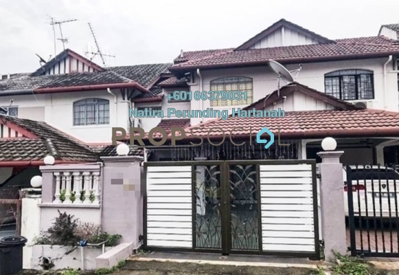 Terrace For Sale in Taman Bahagia, Cheras Freehold Semi Furnished 4R/3B 575k