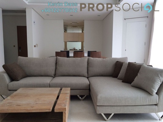 Condominium For Rent in Quadro Residences, KLCC Freehold Fully Furnished 5R/3B 10k