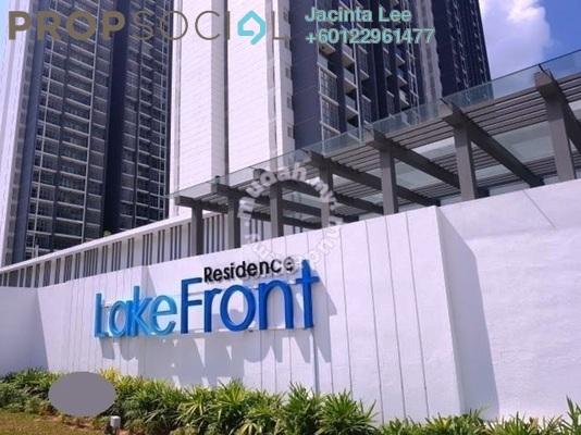 Condominium For Sale in LakeFront Residence, Cyberjaya Freehold Semi Furnished 4R/3B 405k