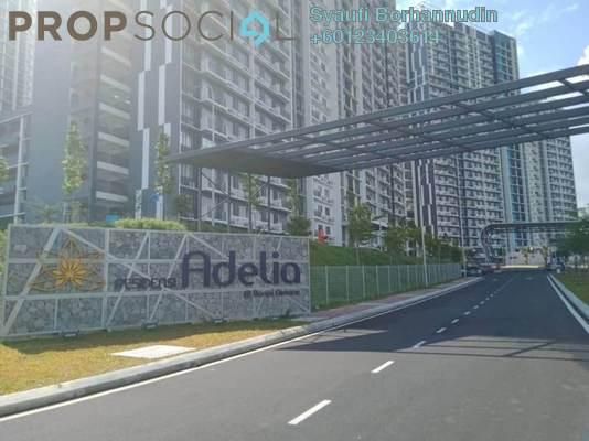 Condominium For Sale in Bangi Avenue, Kajang Freehold Semi Furnished 3R/3B 350k