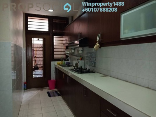 Semi-Detached For Sale in Mutiara Indah, Puchong Freehold Semi Furnished 4R/3B 668k