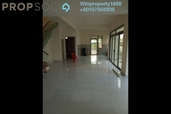 Terrace For Rent in D'Island, Puchong Freehold Unfurnished 5R/5B 2k