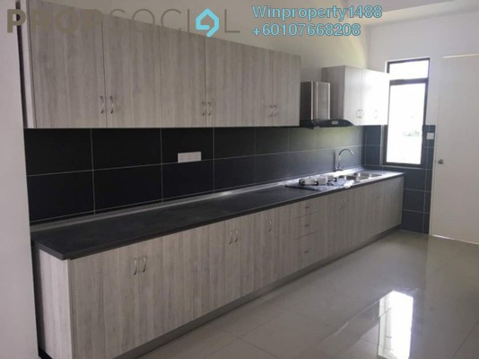 Terrace For Rent in Ceria Residences, Cyberjaya Freehold Semi Furnished 5R/5B 3k