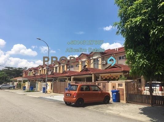 Terrace For Sale in Taman Subang Intan, Subang Freehold Semi Furnished 4R/3B 600k