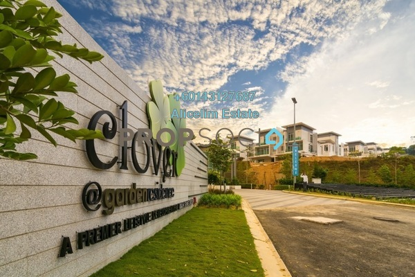 Semi-Detached For Rent in Clover @ Garden Residence, Cyberjaya Freehold Unfurnished 4R/6B 3.2k