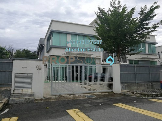 工厂 单位出租于 Taman Bukit Rawang Jaya, Rawang Freehold Unfurnished 0R/4B 7.5千