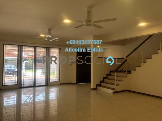 Terrace For Rent in The Park Link Villas, Cahaya SPK Freehold Semi Furnished 5R/5B 1.7k