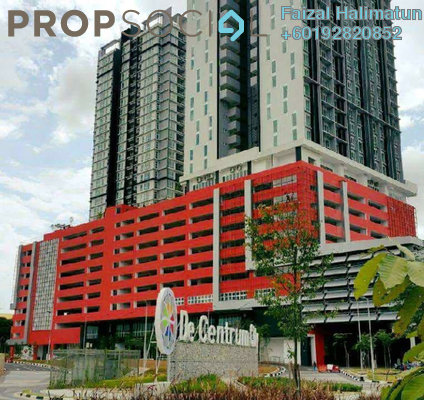Condominium For Sale in De Centrum Residences, Kajang Freehold Semi Furnished 2R/2B 360k