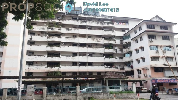 Apartment For Rent in Taman Seri Hijau, Jelutong Freehold Unfurnished 3R/2B 750translationmissing:en.pricing.unit