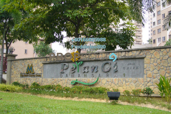 Condominium For Rent in Pelangi Damansara, Bandar Utama Freehold Semi Furnished 3R/2B 1.1k