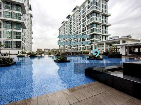 Serviced Residence For Rent in The Scott Garden, Old Klang Road Freehold Unfurnished 1R/2B 1.1k