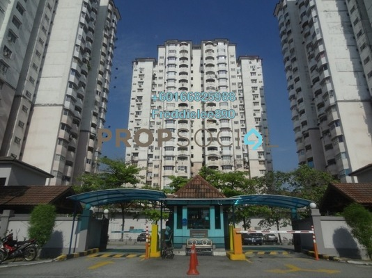 Condominium For Rent in BAM Villa, Cheras Freehold Fully Furnished 2R/2B 1.3k