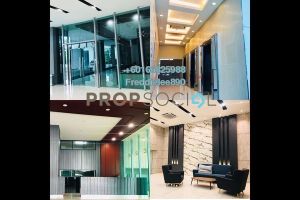 Serviced Residence For Rent in Central Residence, Sungai Besi Freehold Semi Furnished 2R/2B 1.4k