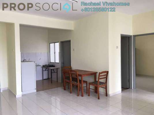 Apartment For Rent in Sutramas, Bandar Puchong Jaya Freehold Semi Furnished 3R/2B 1.2k