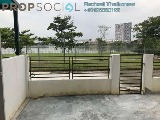 Townhouse For Rent in Summer Homes, Puchong Freehold Semi Furnished 3R/3B 1.6k