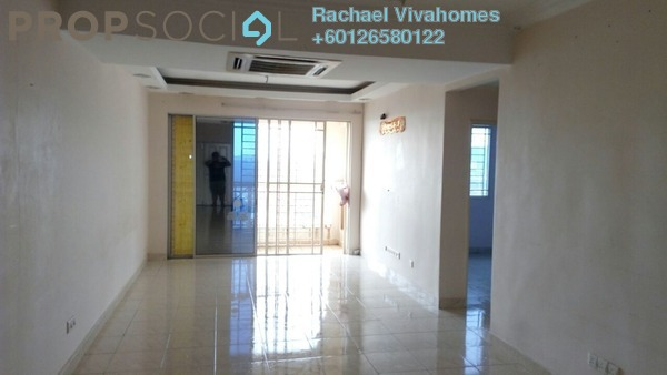 Apartment For Rent in Koi Tropika, Puchong Freehold Semi Furnished 3R/2B 1.2k