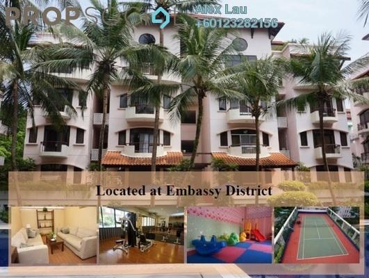 Condominium For Rent in Kondominium 8, Ampang Hilir Freehold Fully Furnished 2R/3B 4.3k