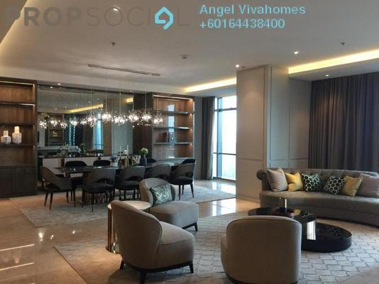 Condominium For Rent in The Ritz-Carlton Residences, KLCC Freehold Fully Furnished 4R/3B 19k