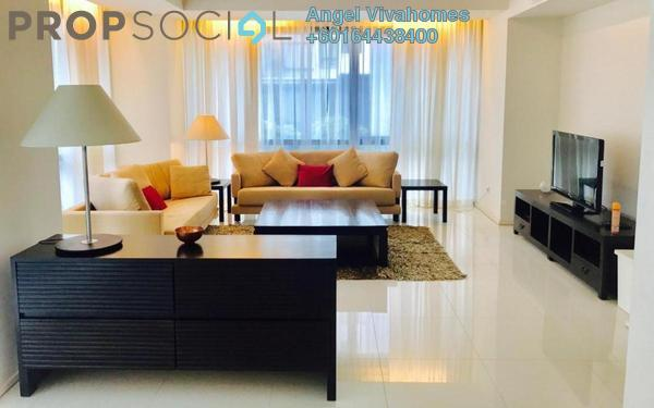 Condominium For Rent in Hampshire Place, KLCC Freehold Fully Furnished 2R/2B 4k