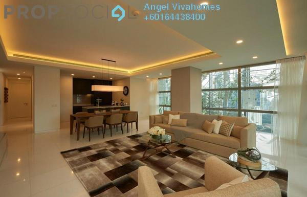 Condominium For Rent in Le Nouvel, KLCC Freehold Semi Furnished 2R/2B 9k