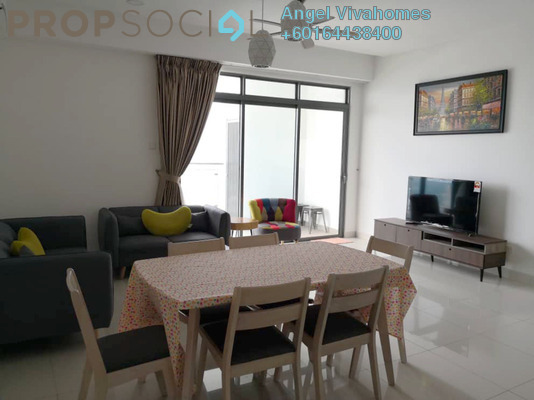 Serviced Residence For Rent in Vivo Residential @ 9 Seputeh, Old Klang Road Freehold Fully Furnished 3R/2B 4k