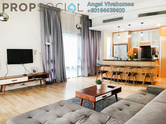 Condominium For Rent in St Mary Residences, KLCC Freehold Fully Furnished 1R/2B 3k