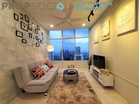 Serviced Residence For Rent in Sky Suites @ KLCC, KLCC Freehold Fully Furnished 2R/2B 2.8k