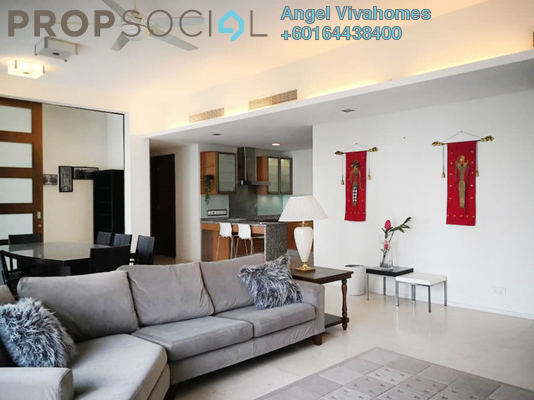 Apartment For Rent in Dua Residency, KLCC Freehold Fully Furnished 4R/4B 4.9k