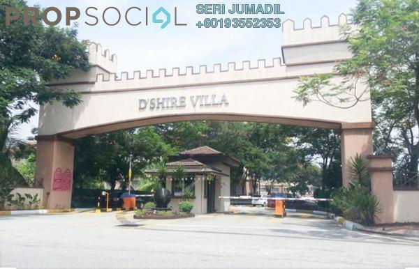 Apartment For Sale in Villa Damansara, Kota Damansara Freehold Semi Furnished 3R/2B 370k