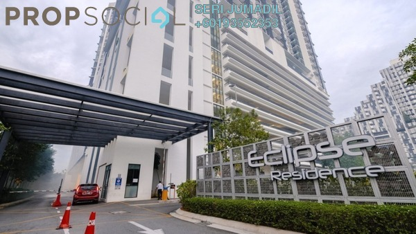 Condominium For Sale in Eclipse Residence @ Pan'gaea, Cyberjaya Freehold Fully Furnished 3R/2B 580k