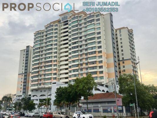 Condominium For Sale in Mutiara Anggerik, Shah Alam Freehold Fully Furnished 4R/2B 430k