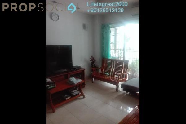 Link For Sale in BP14, Bandar Bukit Puchong Freehold Semi Furnished 4R/3B 520k