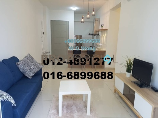 Condominium For Sale in Penang World City, Batu Uban Freehold Fully Furnished 3R/2B 595k