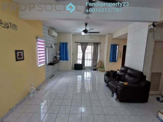 Terrace For Sale in Taman Amanputra, Puchong Freehold Semi Furnished 5R/4B 660k