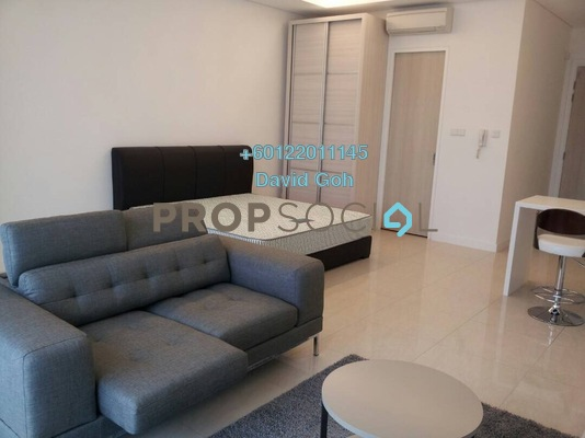 Condominium For Rent in The Horizon Residences, KLCC Freehold Fully Furnished 0R/1B 2.6k